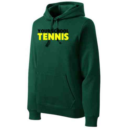 Tennis Heavyweight Sport-Tek Adult Hooded Sweatshirt